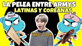 CHISME: La PeIea De ARMYS Coreanos Con ARMYS Latinos!😱