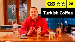 Quick Guide 28: How to Make Turkish Coffee