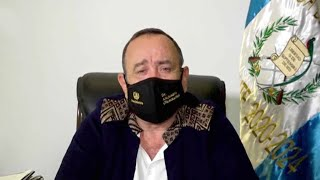 Guatemala's president tests positive for COVID-19