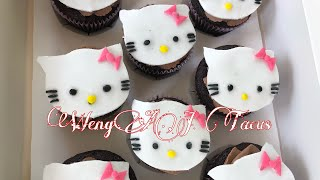 HELLO KITTY CUPCAKES | WengAJ
