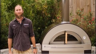 Forno Venetzia Torino 500 Wood Burning Pizza Oven Review   BBQGuys.com