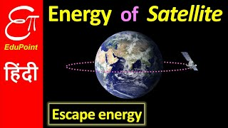 Energy of a Satellite | in HINDI