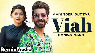 Viah (Audio Remix) | Maninder Buttar Ft Bling Singh | Dj SR Beats | Preet Hundal | Latest Songs 2020