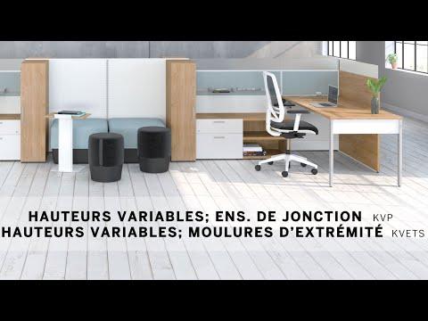 Vidéo d'installation 8 - Jonctions à hauteurs variables