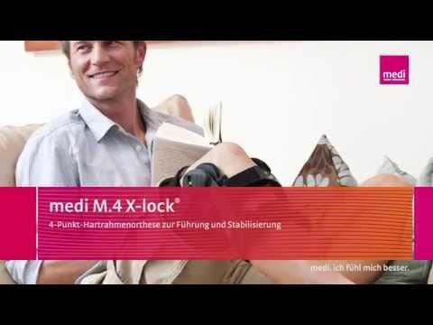 medi M.4 X-lock® Knieorthese - Schulungsvideo für Fachpersonal