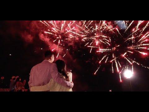 ✨『2850天的日子 感謝當初我們的相遇』- 台中深情告白煙火求婚