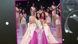 Maria Harfanti Miss Indonesia 2015 crowning moment