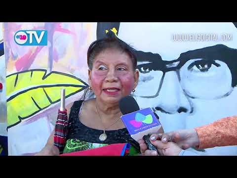 Colocan ofrenda floral en monumento de Leonel Rugama en su 49 aniversario de su paso a la inmortalidad