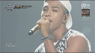 TAEYANG -'눈,코,입(EYES, NOSE, LIPS)' 0619 M COUNTDOWN : NO.1 OF THE WEEK