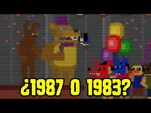 ¿Porqué La Mordida De Five Nights At Freddy's 4 Fue en 1987 y no en 1983? | Teoria | FNAF 4