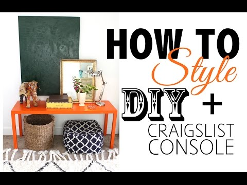 DIY Craigslist Furniture – Before & After