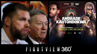 SAUNDERS VACATES! SUSPENSION? FRANK WARREN TO SUE MSAC! ANDRADE KAUTONDOKWA PREVIEW! DAZN 10/20!