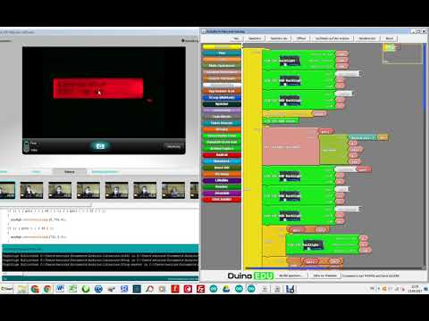 Printing Ultrasonic Sensor Data on Serial Monitor using