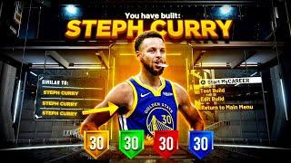 NBA 2K21 STEPHEN CURRY BUILD IS GAME BREAKING😱! SPEED BOOSTING SHARP! BEST GUARD BUILD NBA 2K21!