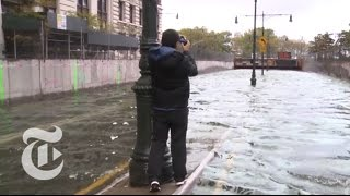 Hurricane Sandys Impact On Lower Manhattan | The New York Times