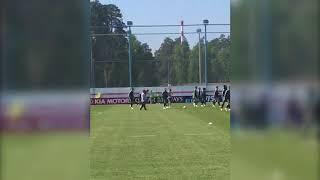 Видели, как Куарежма остановил мяч? Шик с тренировки португальцев
