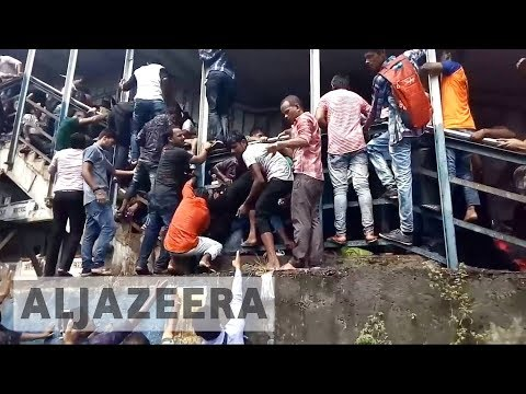 Stampede kills dozens in India's Mumbai