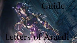 Skyrim: Special Edition Guide: Valkyjra Armory's Hidden Quest - Letters of Araedi