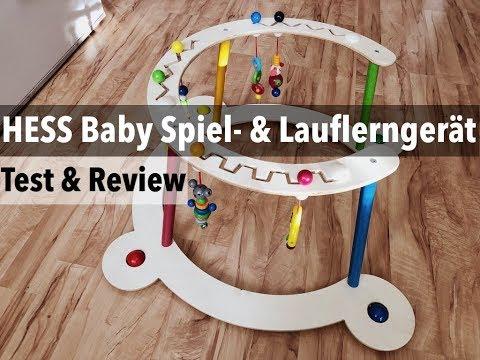 HESS Baby Spiel- und Lauflerngerät im Test / Review