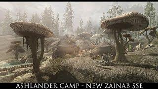 Skyrim SE Mods: Ashlander Camp New Zainab SSE
