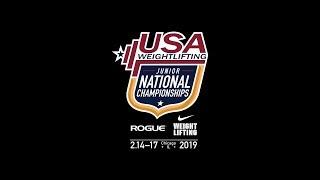 2019 National Junior Championships - Red Platform - Friday
