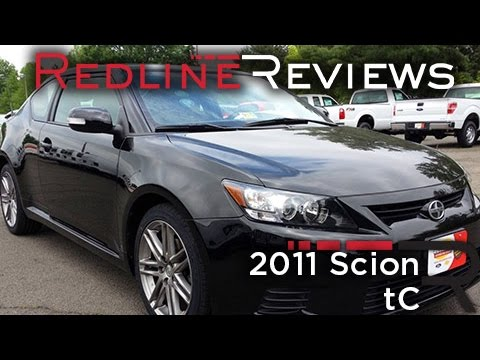 2011 Scion tC Review, Walkaround, Exhaust, & Test Drive