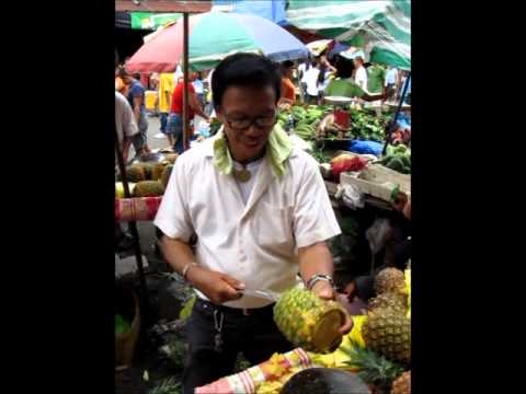 How To Peel A PIneapple | Fastest PIneapple Peeler | Philippines