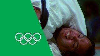 yasuhiro yamashitas relives olympic judo gold  olympic rewind