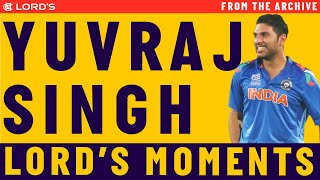 Yuvraj Singh's Highlights | MCC vs ROW Lord's Bicentenary Celebration Match