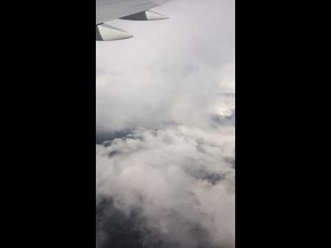 Flying through the sky | amazing clouds | flying Iceland
