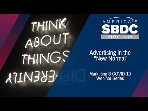 Marketing Post COVID: Advertising in the New Normal (1:02:08)