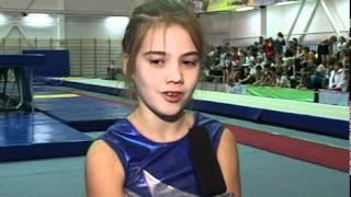 Иваново соревнование по прыжкам на батуте...