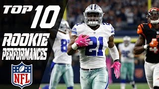 Top 10 Rookie Performances of the 2016 Season   NFL Highlights