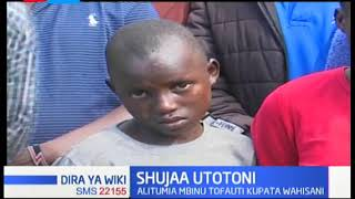 Mtoto wa Eldoret awakumbuka waathiriwa, alichangisha misaada ya vyakula