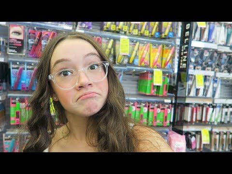 CHEAP Mascara Hunt At The Drugstore! Finding The BEST Cheap Mascaras! FionaFrills Vlogs