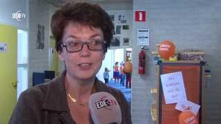 preview picture of video 'Actie trek aan de bel op de Panta Rhei (EDE TV Nieuws 16-03-2015)'