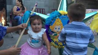 Leilas Bubble Guppies 1 Birthday Party.