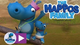 Party Happo And Baby Happo I Cartoon For Kids I The Happos Family
