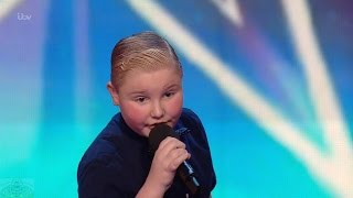 Britain's Got Talent 2016 S10E01 George Kavanagh 11 Year Old Stand Up Comedian Full Audition