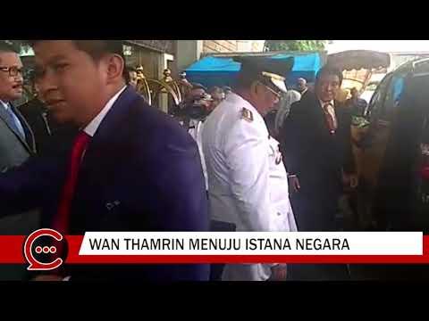 Begini Penampilan Wan Thamrin Hasyim Memakai Baju yang Sudah Dipermaknya untuk Pelantikan Gubri Definitif