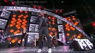 [NhýmLeeSub][Vietsub+Kara]Break your heart - Taio Cruz (live)
