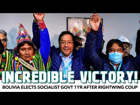 Bolivia Elects Socialist Govt 1yr After Rightwing Coup