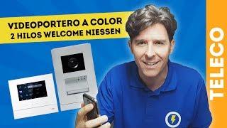 VIDEOPORTERO A COLOR 2 HILOS WELCOME NIESSEN ABB