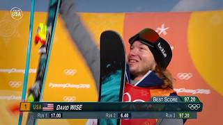Team USA 2018 Playlist: David Wise Wins Gold In PyeongChang
