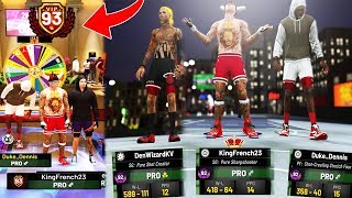 NBA 2K19 93 OVERALL PURE SHARP REACTION w/ DENWIZARD & DUKE DENNIS • ROAD TO 99 OVERALL MASCOTS 🔥
