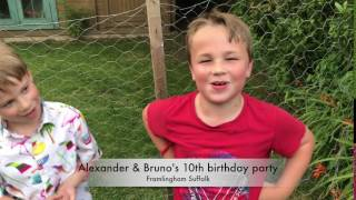 Alexander & Bruno's 10th birthday party