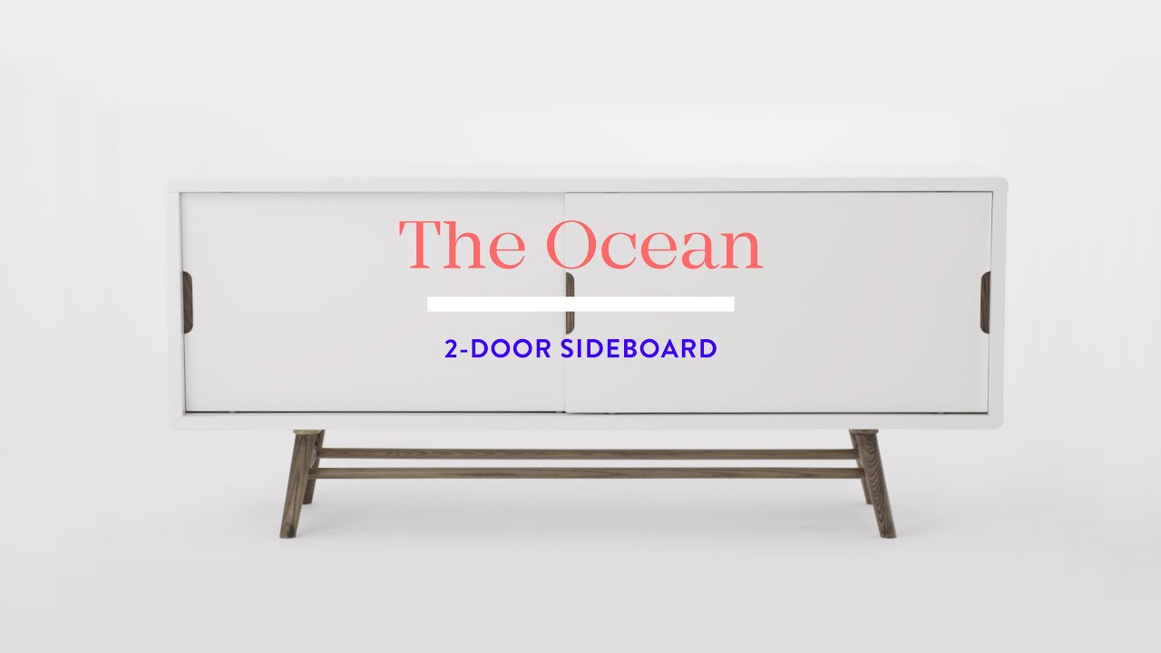 OCEAN 2-door sideboard