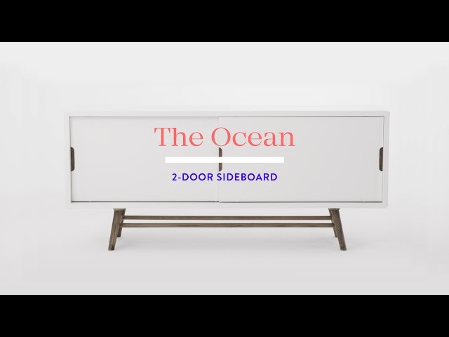 Video: OCEAN 2-door sideboard