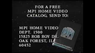 MPI Home Video Catalog - 1989