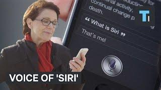 Voice of 'Siri'